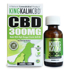 CBD KingKalm for Dogs & Cats 300mg Extra Strength