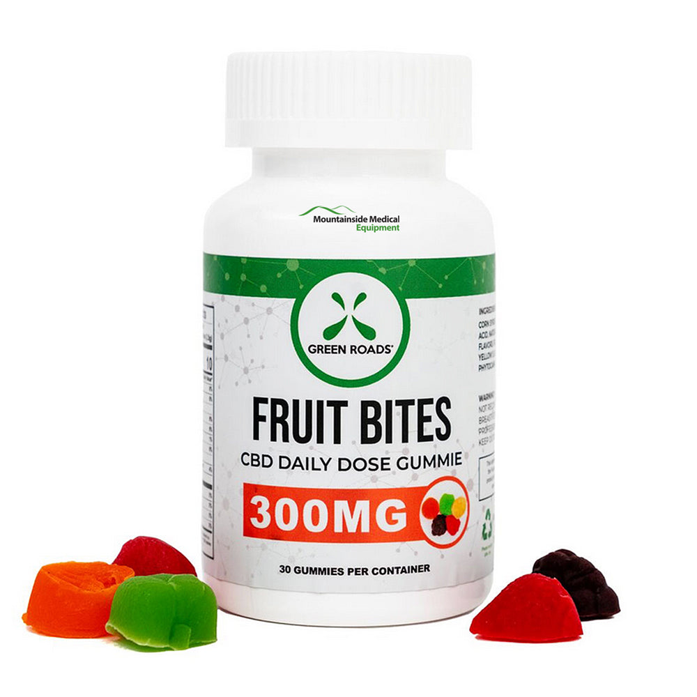 CBD Fruit Bite Gummies 300mg Extra Strength (30 Ct)