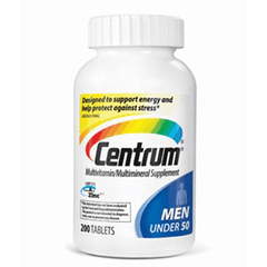 Centrum for Men Under 50 Multivitamin For Energy & Stress Relief for Vitamins, Minerals & Supplements by Pfizer | Medical Supplies