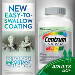 Centrum Silver 50+ Multivitamin Multimineral Supplement for Multivitamin by Pfizer | Medical Supplies