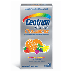 Buy Centrum Silver Chewables Multivitamin Multimineral, Citrus Berry online used to treat Multivitamin - Medical Conditions