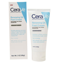Buy CeraVe SA Renewing Foot Cream for Moisturizing Dry Feet, 3 oz online used to treat Dry Foot Moisturizing Cream - Medical Conditions