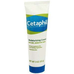 Cetaphil Moisturizing Cream 3 oz for Skin Care by Galderma Laboratories | Medical Supplies