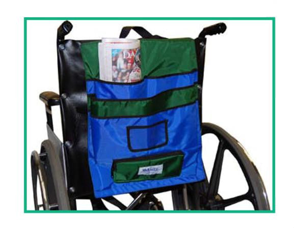 Buy Chair Pack Wheelchair Pocket Organizer by Skil-Care Corporation from a SDVOSB | Wheelchair Accessories