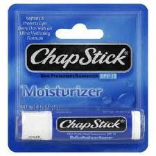 Buy Chapstick Lip Moisturizer SPF 15 online used to treat Lip Balm - Medical Conditions