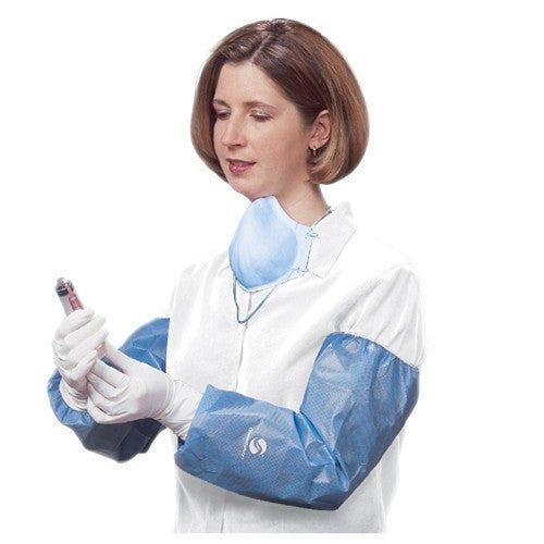 ChemoPlus Poly-Coating Protective Arm Sleeves 100/Case for Isolation Supplies by Covidien /Kendall | Medical Supplies