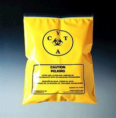 Buy Chemotherapy Transport Bags 100/bx online used to treat Isolation Supplies - Medical Conditions