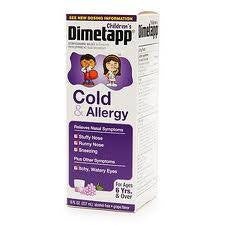 Buy Childrens Dimetapp Cold and Allergy Medicine 8 oz online used to treat Cold Medicine - Medical Conditions
