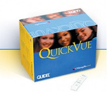 Quidel QuickVue Chlamydia Test (25 Tests) for Testing Kits by Quidel Corporation | Medical Supplies