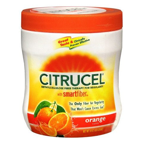 Citrucel SmartFiber Powder Orange Flavor 16 oz