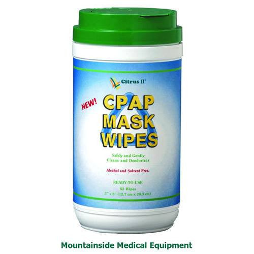 Buy Citrus II CPAP Mask Wipes 62 Count Canister used for Disinfectant Wipe by Beaumont Products