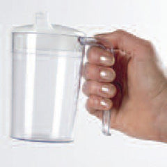 Buy Clear Polycarb Spillproof Mug by Patterson Medical | SDVOSB - Mountainside Medical Equipment