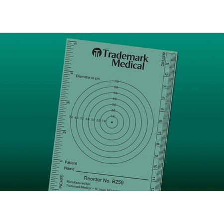 Wound Measuring Guide Bullseye Target 250/Bag - Wound Care - Mountainside Medical Equipment