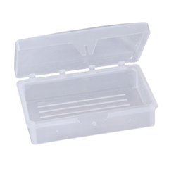 Buy New World Imports Hindged Soap Dishes, Clear 100/Case by New World Imports wholesale bulk | Personal Care & Hygiene