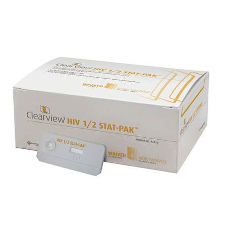 Buy Clearview HIV1 HIV2 Test Kit by Inverness Medical Company online | Mountainside Medical Equipment