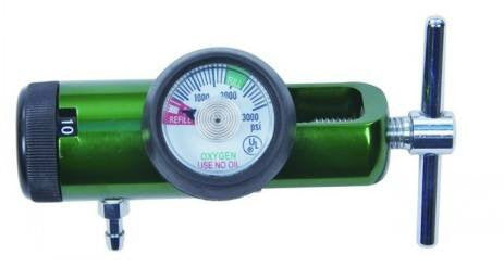 Oxygen Regulator Click-Style, Mini Length