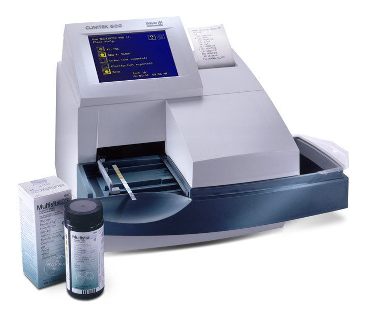 Buy Clinitek Advantus Analyzer with Strips online used to treat Urine Reagent Test Strips - Medical Conditions