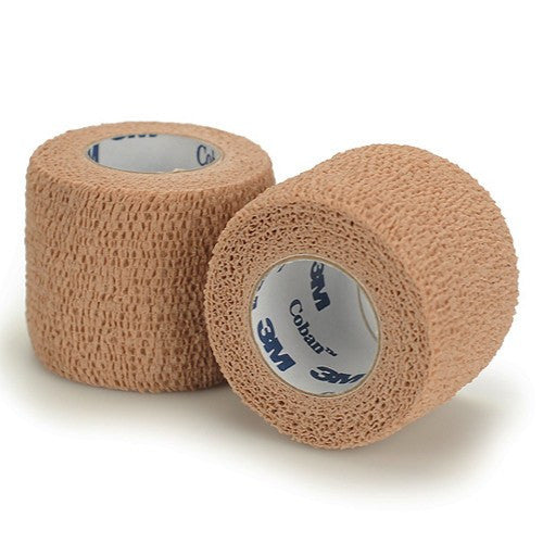 3M Coban Bandage Self Adherent Wrap (Tan/Beige) - Compression Bandages - Mountainside Medical Equipment