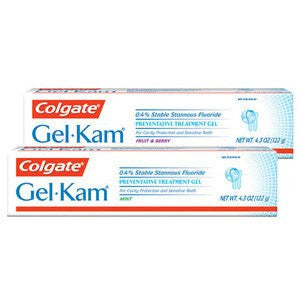Buy Colgate Gel-Kam Fluoride Preventative Gel online used to treat Personal Care & Hygiene - Medical Conditions