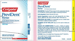 Buy Colgate PreviDent Dental Oral Rinse, Cool Mint 16 oz by Colgate | Home Medical Supplies Online