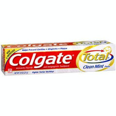 Buy Colgate Total Toothpaste 7.8 oz by Colgate | SDVOSB - Mountainside Medical Equipment