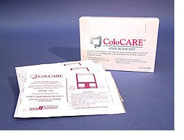 ColoCARE Hospital Pack, 100 Single Test Kits - Fecal Occult Stool Tests - Mountainside Medical Equipment