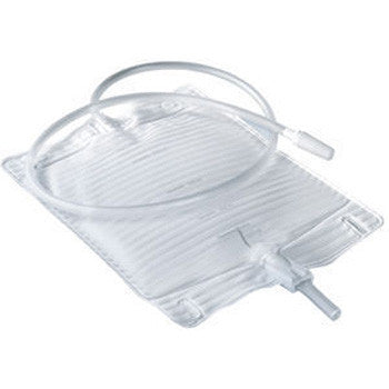 Conveen Bedside Leg Bag with Attached Extension Tubing - Urine Bags - Mountainside Medical Equipment