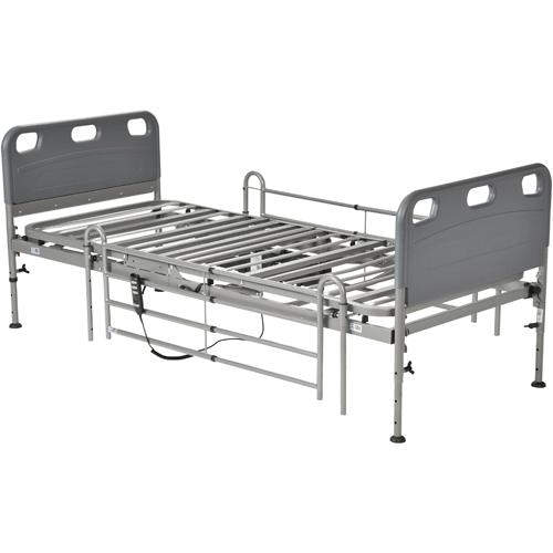 Competitor Semi-Electric Bed with Full Length Side Rails - Hospital Beds - Mountainside Medical Equipment