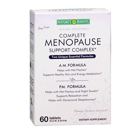 Complete Menopause Support Complex for Vitamins, Minerals & Supplements by Nature