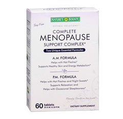 Complete Menopause Support Complex for Vitamins, Minerals & Supplements by Nature's Bounty | Medical Supplies