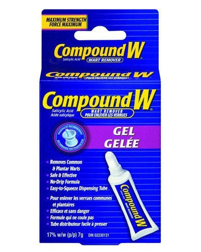 Compound W Wart Remover Gel, 0.25 oz for Plantar Warts by MedTech | Medical Supplies
