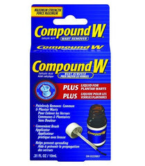 Buy Compound W Plus Wart Remover Liquid, 0.31 oz by MedTech wholesale bulk | Plantar Warts