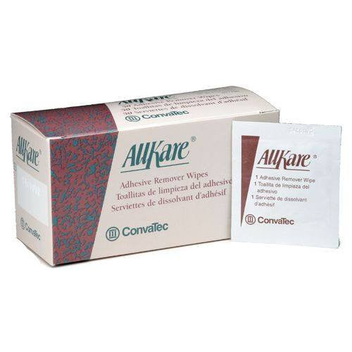 AllKare Adhesive Remover Wipes, 50 box
