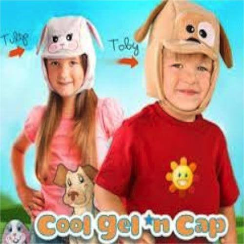 Cool Gel N Cap Childrens Cold or Warm Gel Pack and Cap
