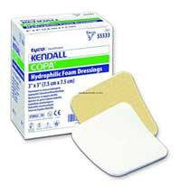 Kendall Copa Hydrophilic Foam Wound Dressing 4 x 4 - Foam Dressings - Mountainside Medical Equipment