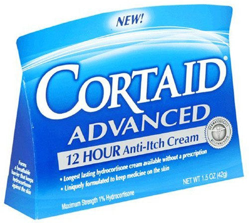 Buy Cortaid Advanced 12 Hour Anti Itch Cream 1.5 oz used for First Aid Supplies by Johnson & Johnson