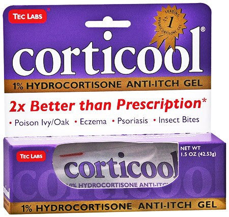 Buy Corticool Anti Itch Gel Hydrocortisone 1 % by Tec Laboratories online | Mountainside Medical Equipment