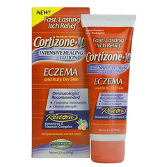 Buy Cortizone 10 Intensive Healing Eczema Lotion 3.5 oz used for Eczema by Chattem
