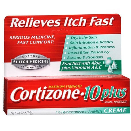 Cortizone 10 Plus Itch Relief Cream