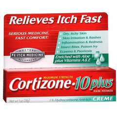 Buy Cortizone 10 Plus Itch Relief Cream by Chattem online | Mountainside Medical Equipment