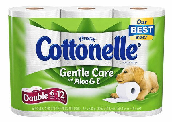 Buy Cottonelle Gentle Care Toilet Paper 48 Rolls online used to treat Kitchen & Bathroom - Medical Conditions