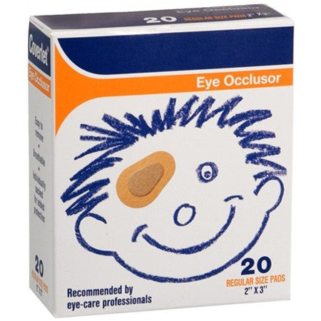Coverlet Eye Occlusors 20/Box
