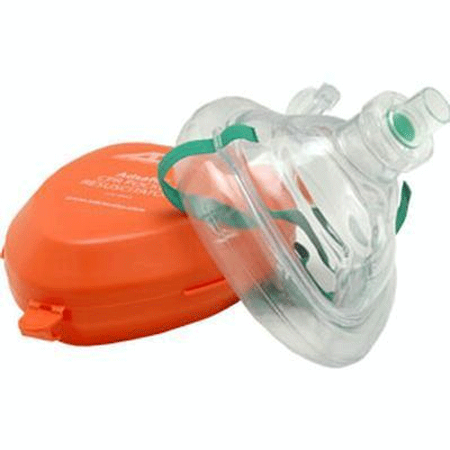 Buy CPR Mask with Hard Case online used to treat CPR Mask - Medical Conditions