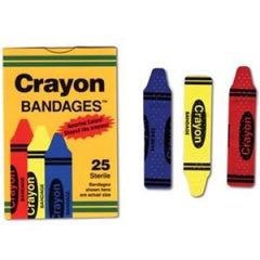 Buy Crayon Adhesive Bandages 100 Count online used to treat Adhesive Bandages - Medical Conditions