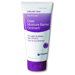 Coloplast Critic-Aid Clear Moisture Barrier Ointment 6 oz for Moisture Barrier Creams by Coloplast Corporation | Medical Supplies