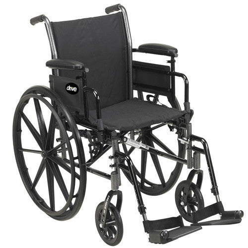 Cruiser III Lightweight Wheelchair for Wheelchairs by Drive Medical | Medical Supplies