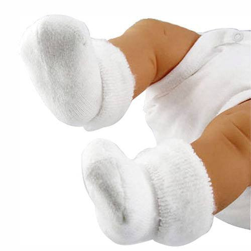 Cuddle Paws Newborn Baby Booties - Non Skid Socks - Mountainside Medical Equipment