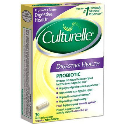 Culturelle Probiotic Capsules for Digestive Health