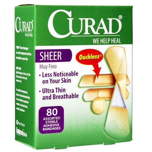 Curad Sheer Adhesive Bandages