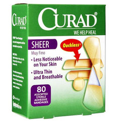 Buy Curad Sheer Adhesive Bandages by Curad online | Mountainside Medical Equipment